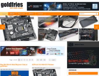 goldfries.com screenshot