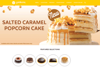 goldilocks.com.ph screenshot