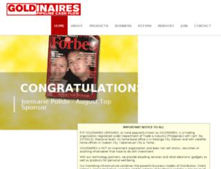 goldinaires.com screenshot