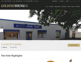 goldingyoung.com screenshot