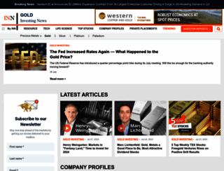 goldinvestingnews.com screenshot