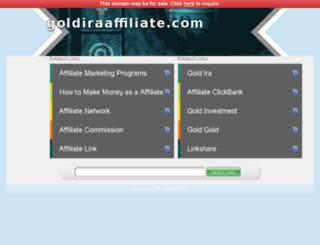goldiraaffiliate.com screenshot