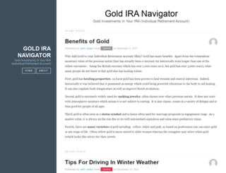 goldiranavigator.com screenshot