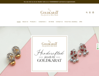goldkarat.in screenshot