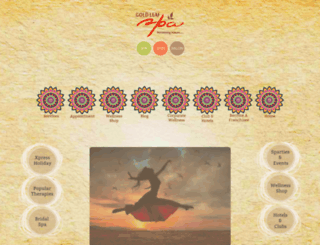 goldleafspa.com screenshot