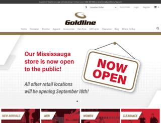 goldlinecurling.com screenshot