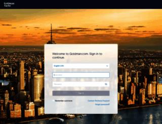 goldman.com screenshot