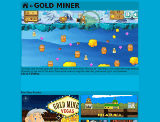 goldminergames.org screenshot
