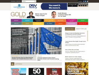 goldnews.com.cy screenshot