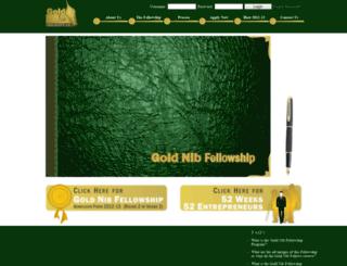 goldnib.org screenshot