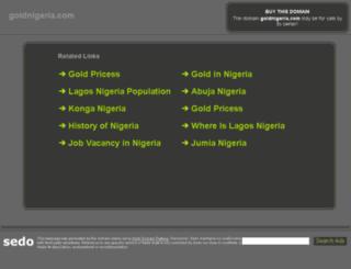 goldnigeria.com screenshot