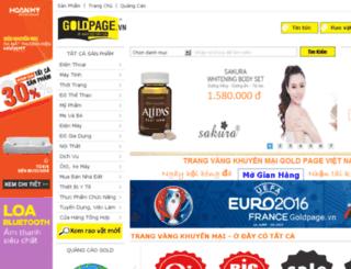 goldpage.vn screenshot