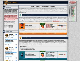 goldpoll.net screenshot
