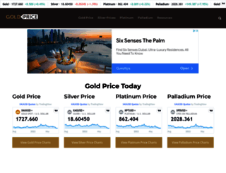 goldprice.com screenshot