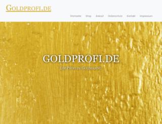 goldprofi.de screenshot