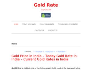 goldrate.guru screenshot