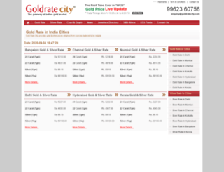 goldratecity.com screenshot
