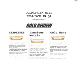 goldreview.com screenshot