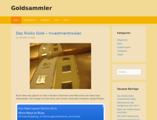 goldsammler.eu screenshot
