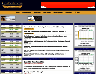 goldseek.com screenshot