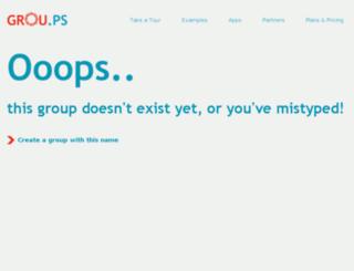 goldsgym-ve.grou.ps screenshot
