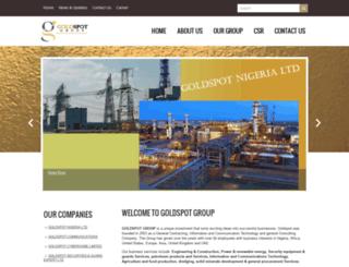 goldspotgroup.com screenshot