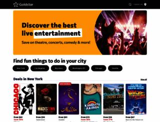 goldstar.com screenshot