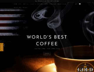 goldstarcoffeeorders.com screenshot