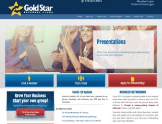 goldstarreferralclubs.com screenshot
