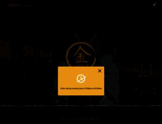 goldsushiclub.com screenshot