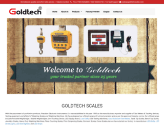 goldtechscales.com screenshot