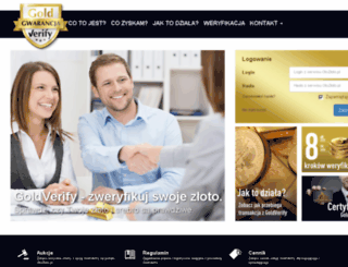 goldverify.pl screenshot