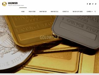 goldwiser.com screenshot