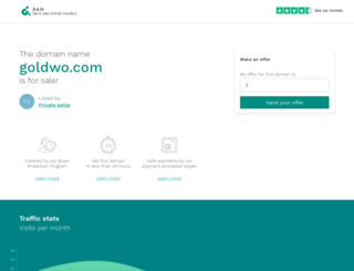 goldwo.com screenshot