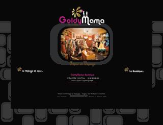goldymama.com screenshot