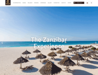 goldzanzibar.com screenshot