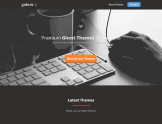 golem.io screenshot