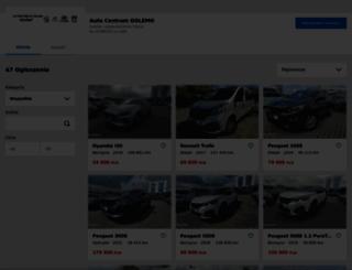 golemo.otomoto.pl screenshot
