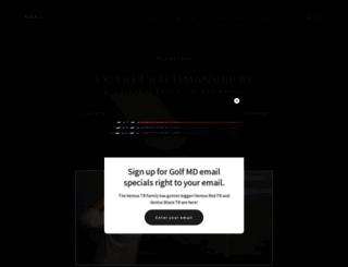 golf-md.com screenshot