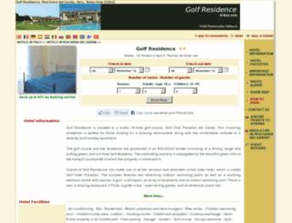golf-residence-peschiera.h-rez.com screenshot