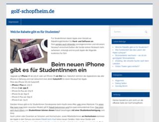 golf-schopfheim.de screenshot