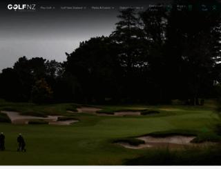 golf.co.nz screenshot