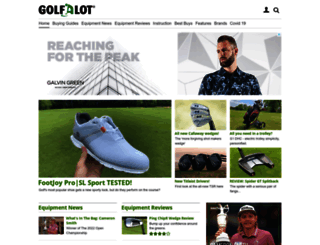 golfalot.com screenshot