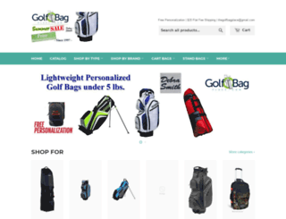 golfbagplace.com screenshot