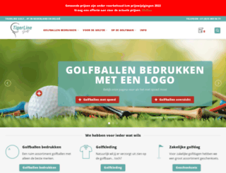 golfballenbedrukken.nl screenshot