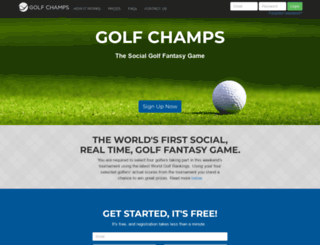 golfchamps.net screenshot