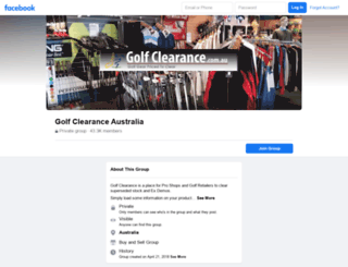 golfclearance.com.au screenshot