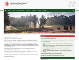 golfclub-falkenstein.de screenshot