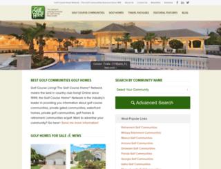 golfcoursehome.com screenshot