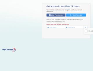 golfdistance.com screenshot